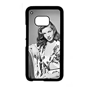 Generic Custom Design With Lauren Bacall Hard Plastic Phone Cases For Guys For M9 Htc Choose Design 1