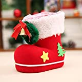 Christmas Candy Boots Santa Claus Boots Stockings Decorative Candy Gift Box