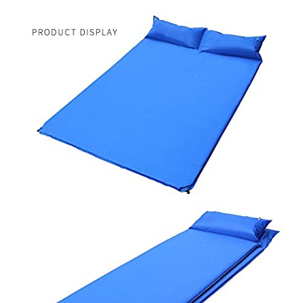 Doble Inflable Inflable Automático Camping Roller Almohadilla Inflable 3 Cm Espesa, Al Aire Libre Camping