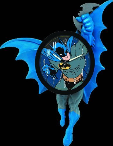 NJ Croce Batman 3D Motion Clock by NJ Croce