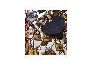 Auf Dem Foto Galerie Bilder Tasse Love Locks Guindal DES Arts Wurden Von In  Paris,