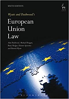 Wyatt and Dashwood's European Union Law