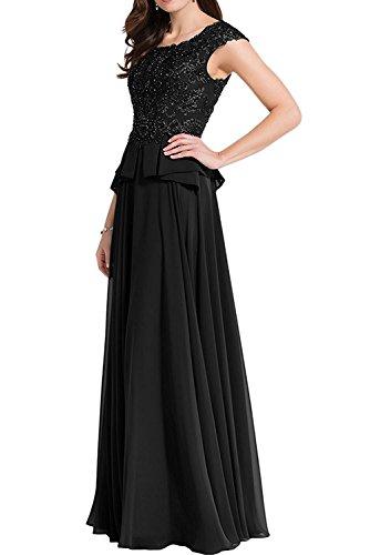 Braut Partykleider Braun Ballkleider Herrlich Schwarz La Brautjungfernkleider Tanzenkleider mia Chiffon Abendkleider Lang Linie A 5WRq0RSEn