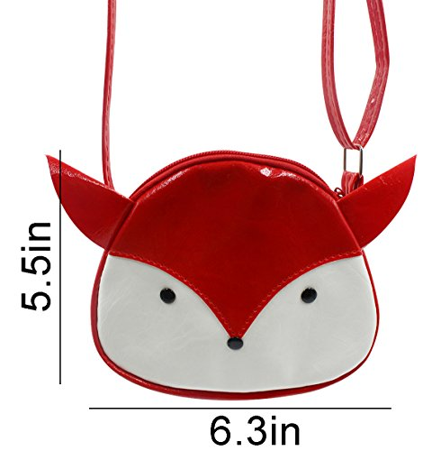 Coin Cat Satchel 5 Purse Red Small Crossbody us Tassel Girls 3in Fringe Kids handbags Bags Bag 6 5 Shoulder for Purse B qpwEPInA