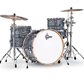 Gretsch Drums Renown 3-Piece Jazz Shell Pack - Silver Oyster Pearl 11