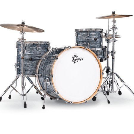 (Gretsch Drums Renown 3-piece Jazz Shell Pack - Silver Oyster)