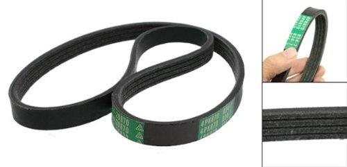 4PK870 Car Auto Black Rubber Poly-V Serpentine Belt