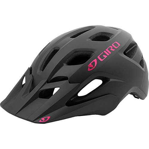Giro Verce MIPS Women's Mountain Bike Helmet (Matte Black/Bright Pink, UW (50-57 cm))