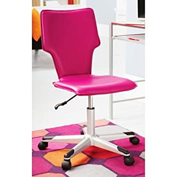 Mainstays Student Office Chair, Multiple Colors (Pink)