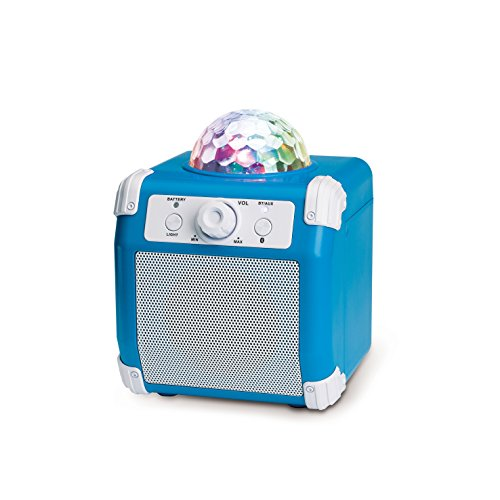Bluetooth Party Speaker with Disco Ball