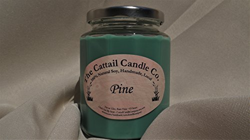 Cattail Candle (Pine - 100% Soy Candle, 12 fl oz)