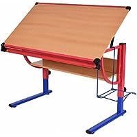Tangkula Drawing Desk Adjustable Drafting Table Art &...