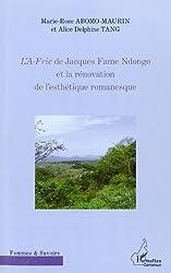 Af-Ric de Jacques Fame Ndongo et la Renovation de l'Esthetique Romanesque (French Edition)