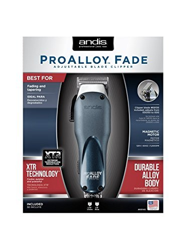 Andis Professional ProAlloy Fade XTR Adjustable Blade Clipper 69140