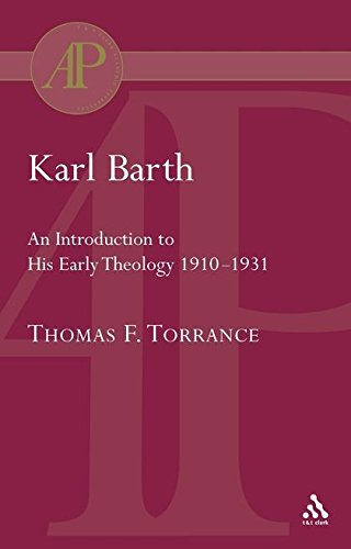 Karl Barth: Introduction to Early Theology (Academic Paperback) pdf