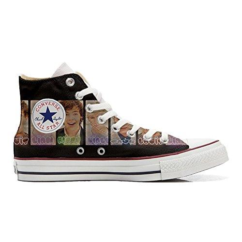 Direction chaussures produit Unisex coutume Italien Imprimés Sneaker All One Hi Converse Star et Personnalisé artisanal x66qYC