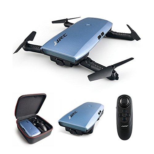 JJRC Elfie Plus H47Upgraded plegable WiFi FPV Drones con cámara HD 720P, modo de control remoto Dual (Control de gravedad Sensing)