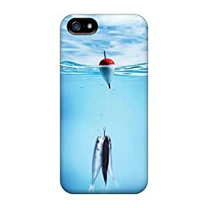 For Saraumes Iphone Protective Case, High Quality For Iphone 5/5s Fishing Skin Case Cover