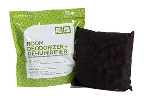 Ever Bamboo Room Deodorizer & Dehumidifier w/ Natural Bamboo Charcoal (200 g)