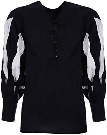 JapanAttitude Camisa Blanca de Algodón Antigua Imperial GN