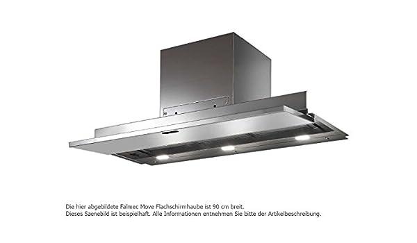 Falmec Design Campana extractora empotrada Move-Negro-Empotrada 90cm: Amazon.es: Hogar