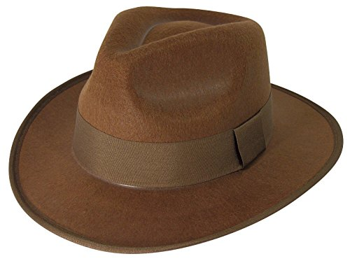 Brown Fedora (Brown Fedora Hat)