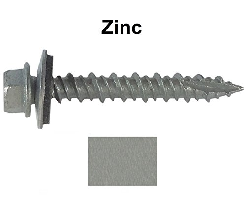 metal-roofing-screws-250-screws-x-2-zinc-hex-washer-head-sheet-metal-roof-screw-self-starting-self-t