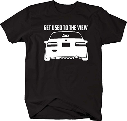 Used Ar15 - Honda Civic Lowered Si Get Used the the View Racing Mens T Shirt - Large