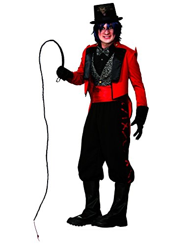 3 Ring Circus Costume (Forum Novelties Men's Twisted Attraction Deluxe Ring Master Costume, Multi, One Size)