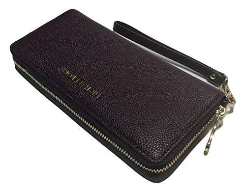 MICHAEL Michael Kors Jet Set Travel Continental Wallet Wristlet (Damson/Mulberry)