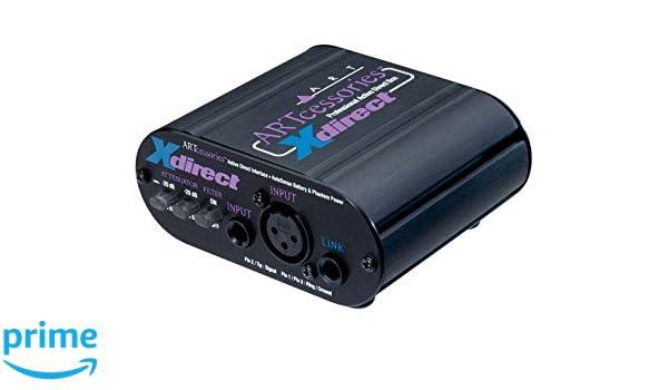 Art X DIRECT - Caja de inyección activa: Amazon.es: Instrumentos musicales