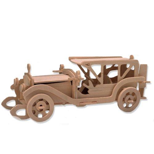 新版 3D木製パズル - B004QDPK7A クラシックカーモデル - 3D木製パズル - お子様への手ごろなギフト 商品番号DCHI-WPZ-P017 B004QDPK7A, ハッピーランド:c880bc80 --- quiltersinfo.yarnslave.com