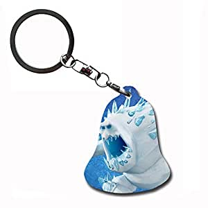 Generic Friendly Key Chain Style With Frozen Olaf Pendant Mdf Card Mdf308