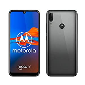 Motorola Moto E6+ Plus Dual-SIM XT2025 32GB (GSM Only | No CDMA) Factory Unlocked Android 4G/LTE Smartphone (Polished Graphite) – International Version