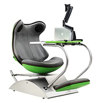 Exceptional Frog 4.0 Green Massage Chair With Built In Speakers