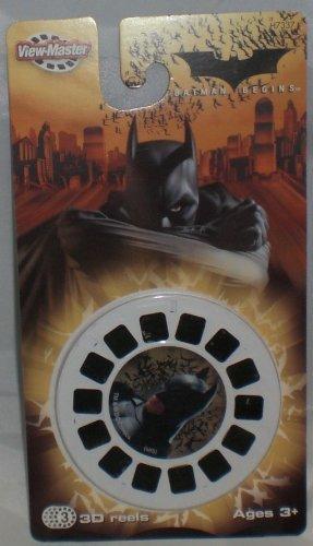 Batman Begins View-Master - 3 Reel Set - 21 3d Images