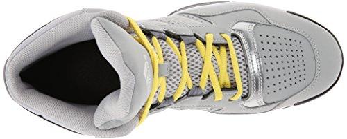 adidas Performance Herren Electrify Performance Basketballschuh Silber / Hellgelb