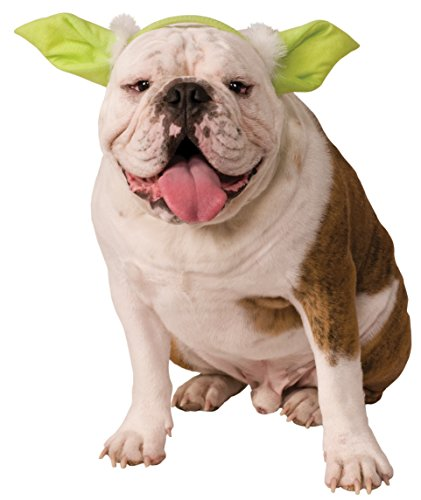 [Star Wars Classic Yoda Dog Headpiece, Small/Medium] (Boston Terrier Yoda Costume)