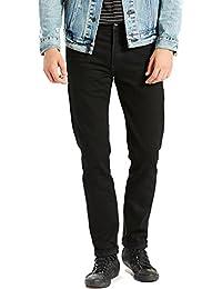 Levi's Men's 501 Skinny Fit Black Punk Jeans, Black