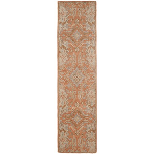 Safavieh Wyndham Collection WYD203A Handmade Terracotta Wool