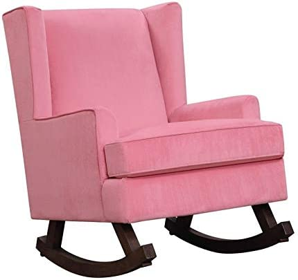 Lily Glider Chair Pink