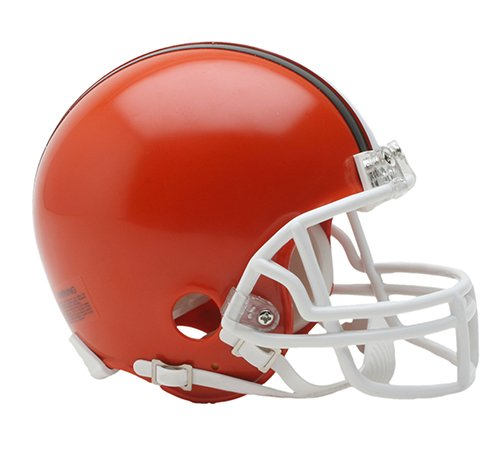 Cleveland Browns 1975-2005 Throwback Riddell Mini Football Helmet - New in Riddell Box