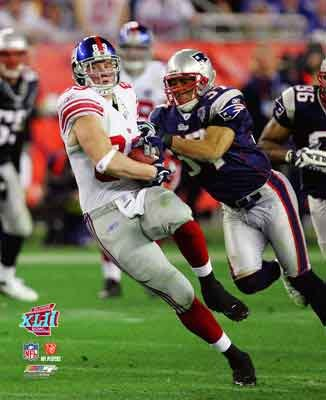 Giants 8x10 Picture - Kevin Boss Giants Super Bowl XLII 8x10
