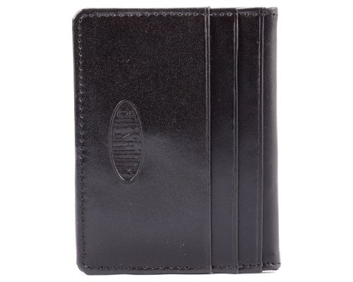 Big Skinny New Yorker Leather ID Slim Wallet, Holds Up to 24 Cards, - New Shop Yorker