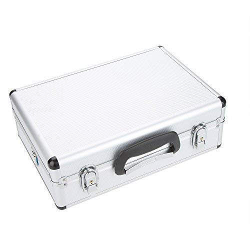 Goolsky Universal Transmitter Aluminum Case for Futaba JR Spektrum Walkera Esky Transmitter