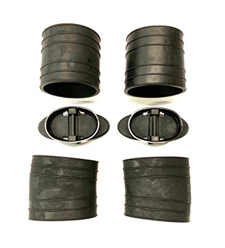 - A.A MerCruiser Exhaust Y-Pipe Kit 1982-96, 807166A3 Hose Bellows 32-14358T 32-44348T