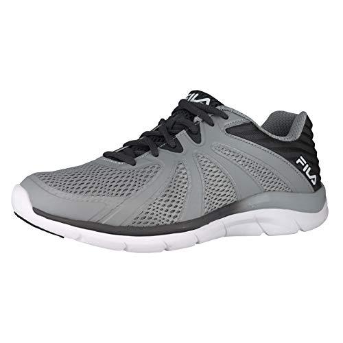 Fila Mens Spring - Fila Memory Fraction 3 Highrise/Castlerock/White Mens Sneaker with Springs Size 11.5M