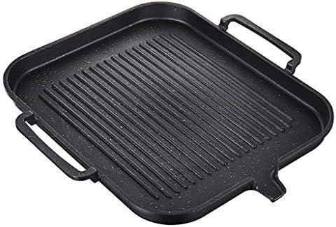 joyMerit アルミ合金の焦げ付き防止の調理の調理鍋の鉄板の台所BBQ Accs