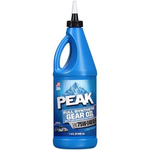 75W-140 Full Synthetic Gear Oil Quart () - PEAK P4GS776
