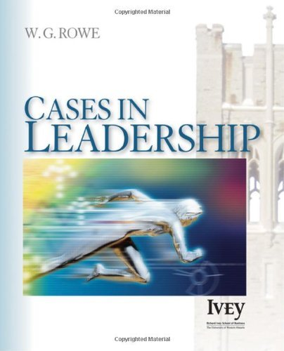 Cases in Leadership: 1st (First) Edition pdf epub